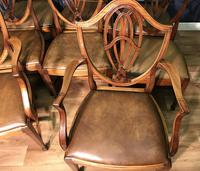 Quality Set of Eight Mahogany Dining Chairs (10 of 18)