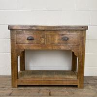 Reclaimed Wooden Sideboard with Two Drawers (2 of 10)