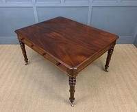 Victorian Period Mahogany Partners Writing Table (15 of 16)