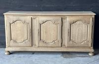 Large French Bleached Oak Enfilade or Sideboard (2 of 19)
