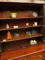 Antique George II Mahogany Secretaire Bookcase of Immense Character (5 of 16)