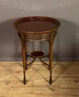Fine Quality Edwardian Side or Lamp Table (6 of 10)