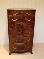 Tall Bow Front Chest of Drawers (2 of 7)