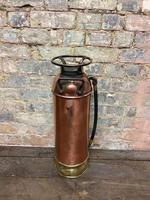 Unique American Brass Extinguisher (2 of 3)