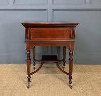"""Inlaid Mahogany """"Surprise"""" Drinks Table (2 of 15)"""