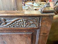 Late 18th Century Box Seated Oak Settle (4 of 19)