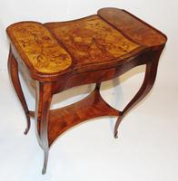 Louis XV Kingwood & Marquetry Poudreuse (7 of 15)