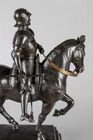 Very Large Stunning 19th Century Equestrian Bronze Sculpture of Bartolomeo Colleoni (14 of 20)