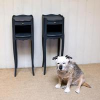 Pair Of Painted Bedside Cabinets (4 of 10)