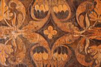 Rare 17th Century Walnut & Marquetry Candle Stand (7 of 9)