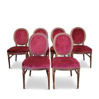 Set of Six Victorian Walnut Balloon Back Chairs (2 of 6)