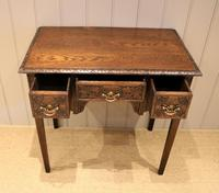 Early 19th Century Carved Oak Lowboy (10 of 11)