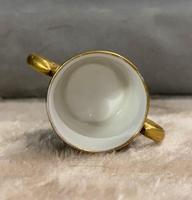 Miniature Coalport Hand Painted & Guilded Loving Cup (6 of 6)