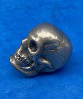 Rare Victorian Skull Vesta (4 of 15)