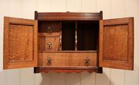 Victorian Carved Wall Cabinet (6 of 9)