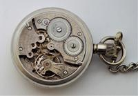 1920s Cyma Pocket Watch with Chain (4 of 5)