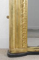 19th Century English Gilt Overmantle Mirror (8 of 11)