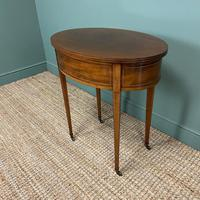 Stunning Victorian Shoolbred Mahogany Antique Centre Table (6 of 6)