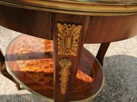 French Parquetry Occasional / Lamp Table (3 of 9)