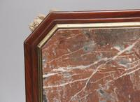 19th Century French Mahogany & Marble Top Occasional Table (7 of 12)