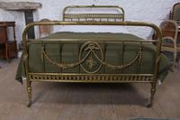 Very Pretty Individual French All Brass Double Bed (7 of 10)