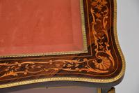 Antique French Inlaid Rosewood Bijouterie Display Table (7 of 15)