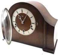 Very Good Arched Top Art Deco Mantel Clock – Musical Westminster Chiming 8-day Mantle Clock (5 of 8)