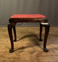 Early 18th Century Fruitwood Stool (2 of 11)