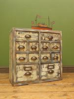 Reclaimed Hand Made Bank of Drawers (20 of 20)