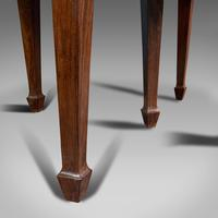 Antique Colonial Campaign Table, Indian, Rosewood, Dining, Extending, Victorian (12 of 12)