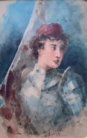 'Claude Thomas Stanfield Moore' Exhibition Quality Portrait Painting (3 of 9)
