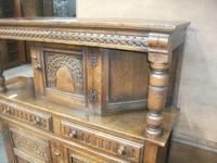 Carved Oak Court Cupboard (2 of 3)