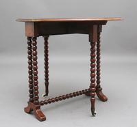 19th Century Burr Walnut Sutherland Table (6 of 6)