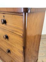 Victorian Mahogany Straight Front Chest of Drawers (10 of 11)