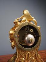 Louis XV Style Ormolu Mantel Clock by Raingo, Paris (10 of 16)