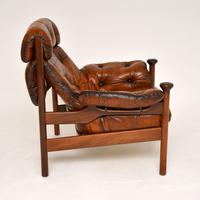1960's Vintage Guy Rogers Leather Armchair (4 of 9)