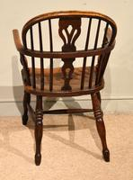 Ash & Elm Windsor Armchair with Low Back (4 of 6)