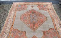 Massive Antique Ushak Carpet 597x525cm (4 of 13)