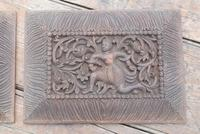 Pair of Early 20th Century Carved Wooden Asian Panels (3 of 10)