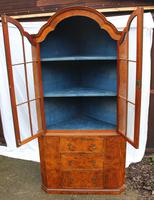 1960s Mahogany Dome Topped Corner Cabinet on Stand (2 of 4)