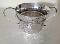 Antique George II Silver Porringer - 1749 (3 of 4)