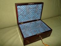 Inlaid Rosewood Jewellery / Table Box c.1860 (2 of 8)