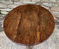 Antique Georgian Oak Cricket Table (10 of 15)