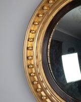 Regency Gilt Convex Mirror (3 of 4)