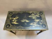 Victorian Chinoiserie Writing Table (3 of 10)
