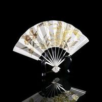 Vintage Japanese Solid Silver Fan Sensu/o-gi c.1960 (9 of 14)