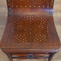 Pair Attractive Victorian Pierced Bentwood Side Chairs (6 of 14)