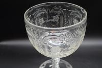 Massive and Rare Mid 19th Century Cut and Etched Goblet (2 of 6)