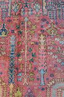 Antique Ushak Carpet 395x328cm (9 of 12)