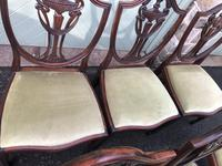 Antique Set of 8 Mahogany Dining Chairs (7 of 10)